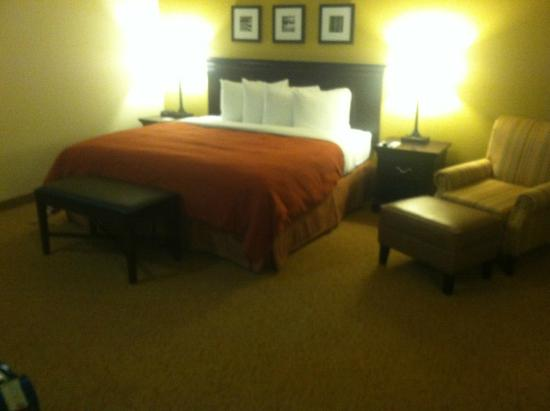 Country Inn & Suites By Carlson, Eagan : Room 402 is a king-size room