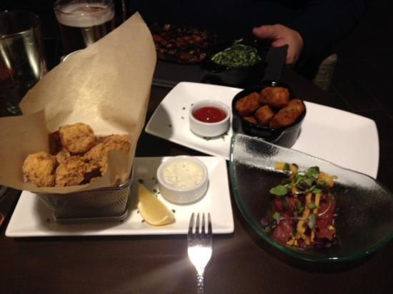 Chopps American Bar and Grill: Appetizers