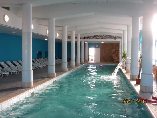 Hotel Alexander Palace: piscina coperta