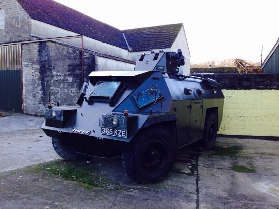 National Transport Museum: Armored Vehicle