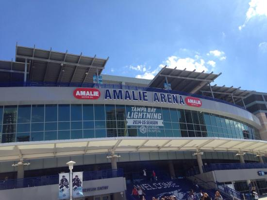 Amalie Arena: Sorry didn't go for hockey but the Joyce Meyers conference was amazing