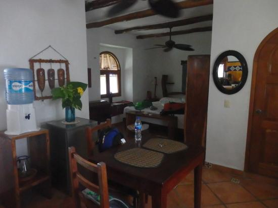 Posada Yum Kin: Our room (low quality photo sorry)