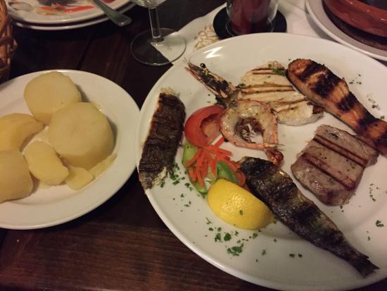 A Varina: Gemischte Fischplatte
