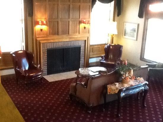 Boulder Dam Hotel : reception area
