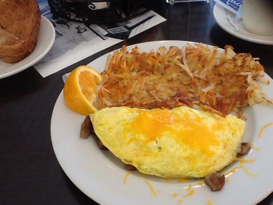 Boulder Dam Hotel : Breakfast selection
