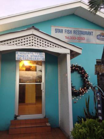Angela's Starfish Restaurant : Star fish restaurant front