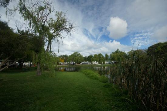 Karrinyup Waters Resort: lake side camping