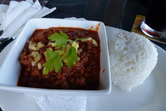 Chili con carne at China Bear