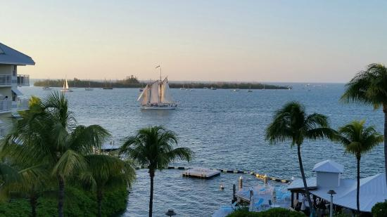 The Galleon Resort And Marina: Beautiful view from balcony