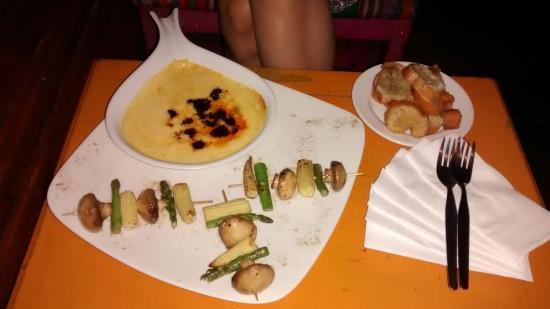 Ayahuasca bar: Porção excelente !