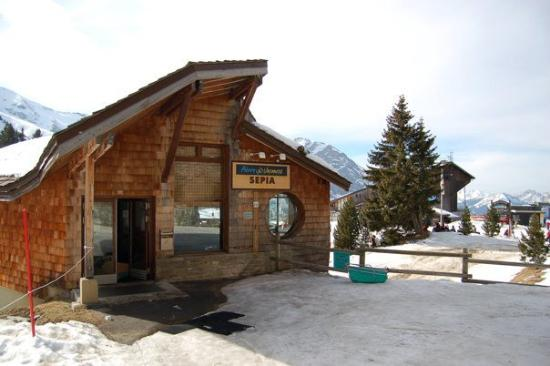 Pierre & Vacances Residence Sepia: entrada
