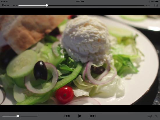 Yarmouth Port, MA: Best Greek salad