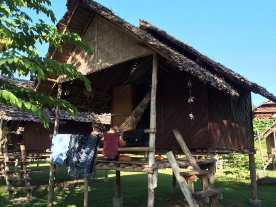 Twin Hut: Our hut