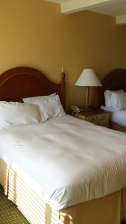 Lodge of  Four Seasons : Two very soft beds