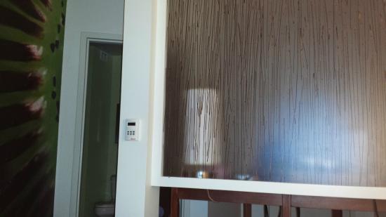 Hotel Indigo Jacksonville Deerwood Park: Cool room divider from the door area