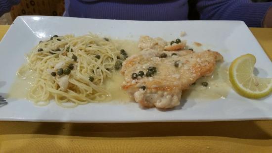 Chefs of Napoli II: Pollo a piccata