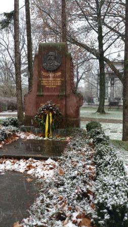 Parkhotel Krems: A memorable statue in the Park of Krems