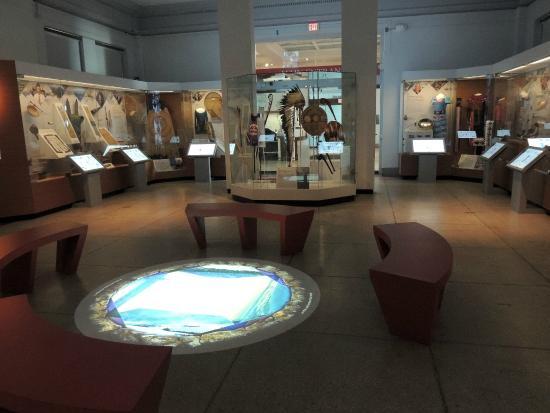 Penn Museum: Sala de Norteamérica