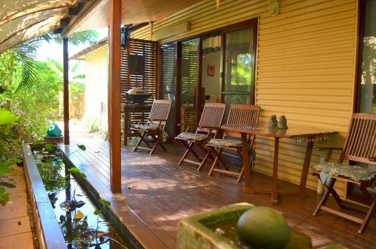 Reflections B&B: The contemplative back verandah