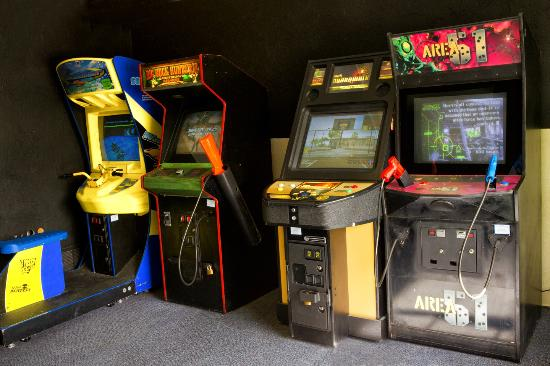 FairBridge Inn & Suites Idaho Falls : Video Game room
