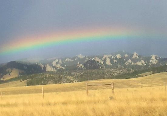 FairBridge Inn & Suites Idaho Falls: Rainbow over the Valley