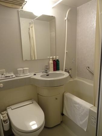 APA Hotel Osaka Higobashi Ekimae : バスルーム