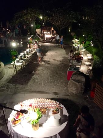Centara Grand Beach Resort & Villas Krabi : Surf & turf BBQ