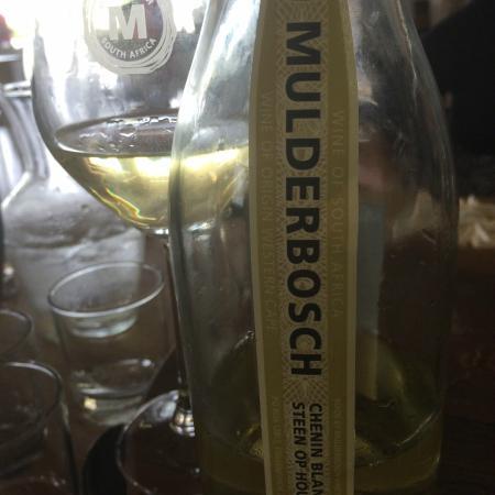 Mulderbosch Vineyards : Steen op Hout