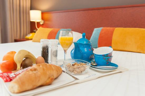Golden Tulip Alkmaar: Ontbijt op bed