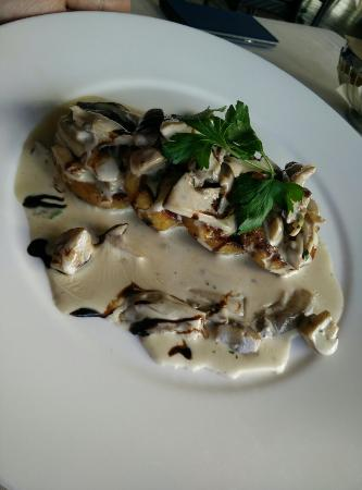 Restaurant Allegra im UTO KULM: sformato di verdure ai funghi
