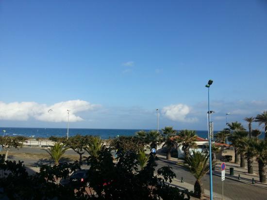 Mar i Sol Hotel : vue de la chambre 106