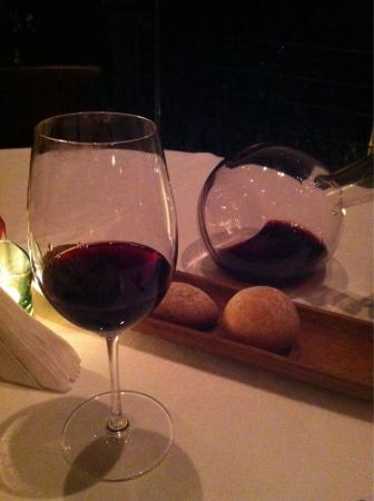 Topaz Restaurant: Heat wine selection