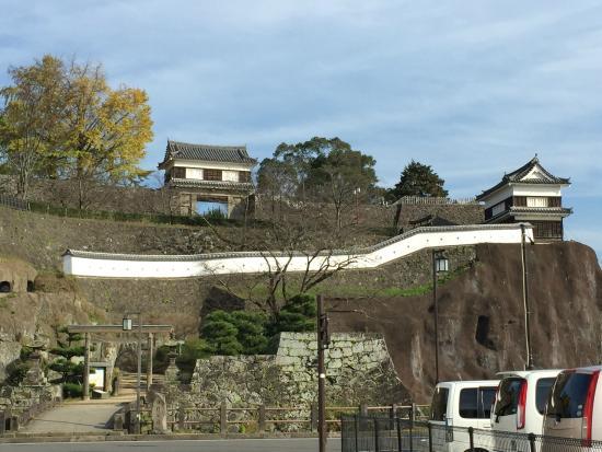 Usuki Castle Ruin: 臼杵城跡正面