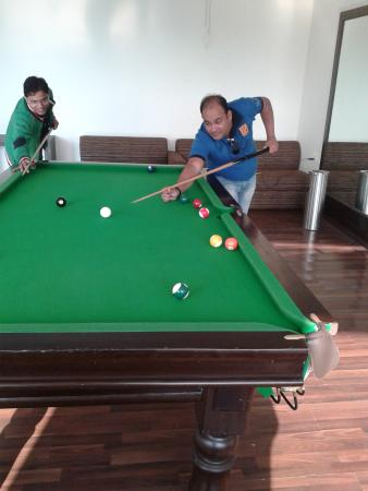 Enjoy Pool Table With My Friend Picture Of V Resorts Rajaji - Buy my pool table