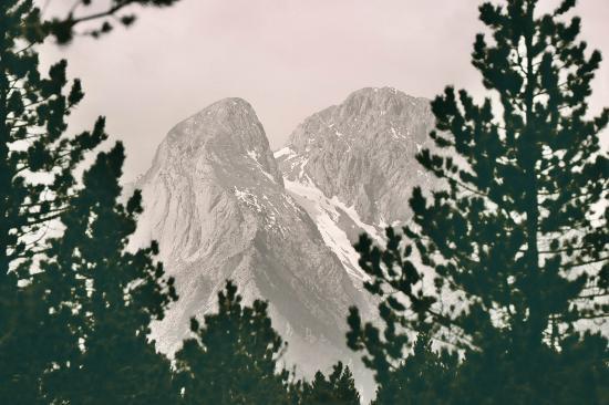 Hostal Pedraforca: Otra vista de la zona del Hostal
