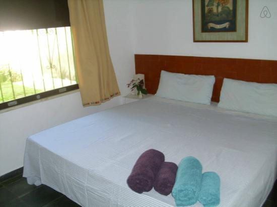 Vegetarian Guesthouse Araruama: quarto hotel veg