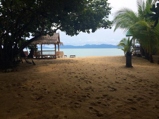 Moonhut Bungalows: Morning view!