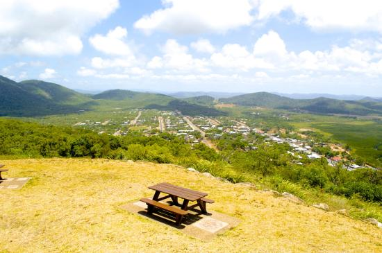 View of the Cooktown Township