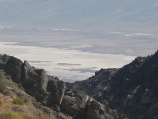 mare di sale visto da Aguereberry point
