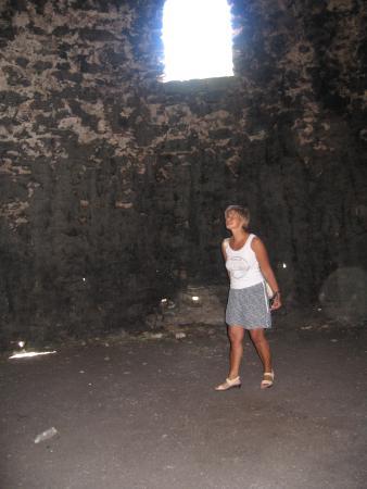 Aguereberry Point: interno del forno