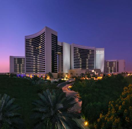 Grand Hyatt Dubai: Grand Hyatt Hotel - Exterior