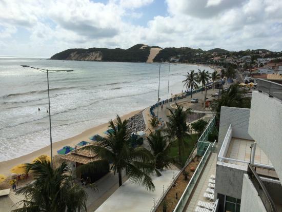 Mirador Praia Hotel: Praia ponta negra