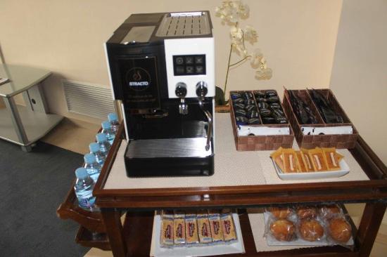 Los Llanos Sercotel: Cafe del madrugador