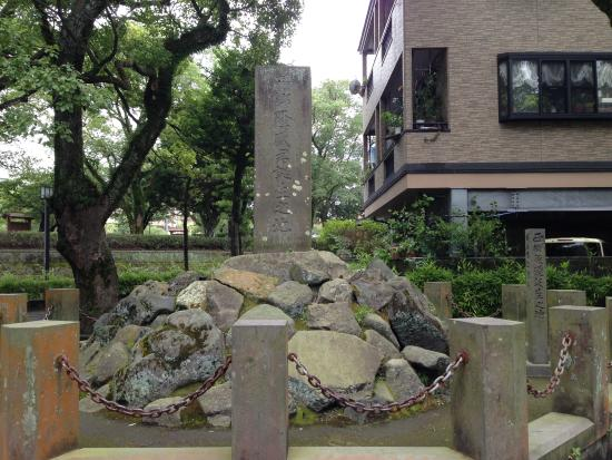 Takamori Saigo Birthplace Monument: 静かな場所にありました