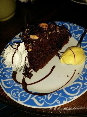 Maga Cacao: Torta amaretto