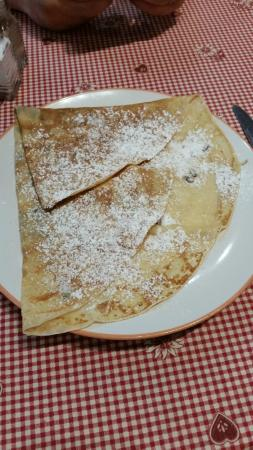 Le Cafe De Paris : banana crepe