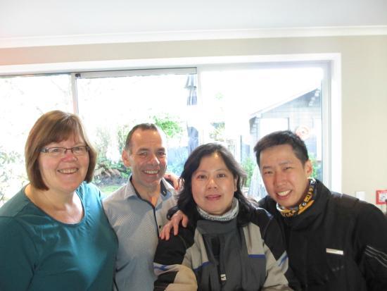 Chalet Queenstown: Jude, Alex, Sylvia & Bernard