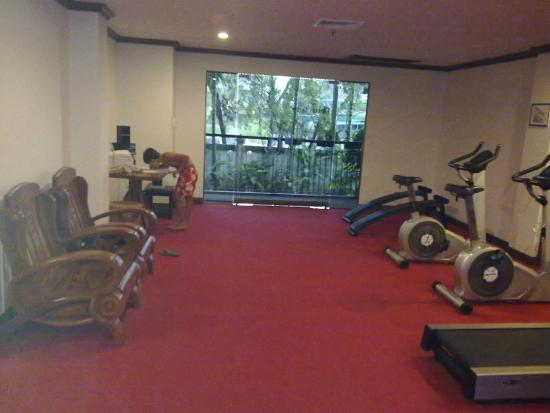 Salle De Sport De L Hotel Picture Of Kata Palm Resort Spa