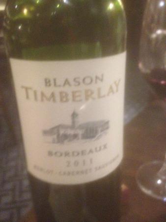 Midleton Park Hotel: Bordeaux wine