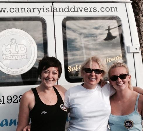 Canary Island Divers Lanzarote: Great staff - happy dives :-)